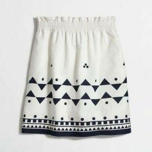 J. Crew Patterned Skirt
